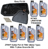 KIT402 ZF6HP26 Auto Easy Fit Metal Sump Conversion Kit With Oil Discovery 3, Range Rover L322&L320